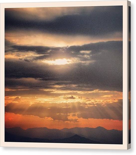 Still Life Canvas Print - Sunrays by Chi ha paura del buio NextSolarStorm Project
