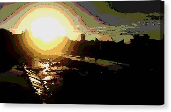 Sunrise Canvas Print by David Alvarez