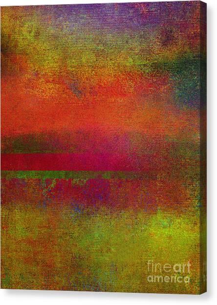 Sunrise Earth IIi Canvas Print by Ricki Mountain