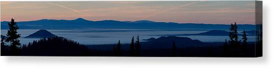 Bachelor Canvas Print - Sunrise Near Mount Bachelor by Twenty Two North Photography