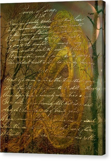 Sunrise Nude Canvas Print by Nancy TeWinkel Lauren