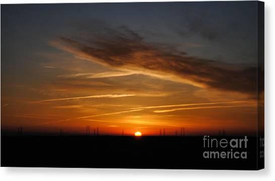 Sunrise On The 505 Canvas Print
