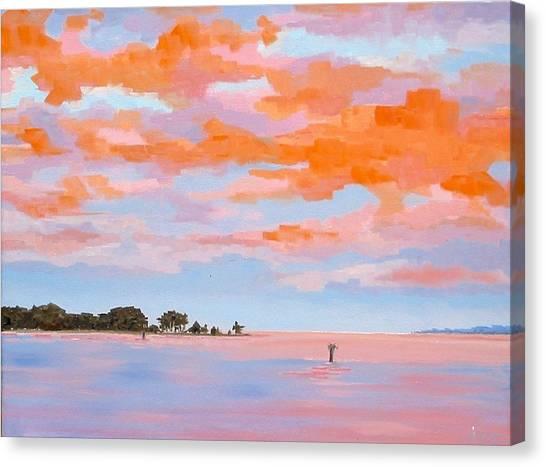 Sunrise Over Little England Canvas Print