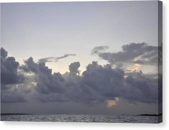 Sunrise Over Orient Bay Canvas Print