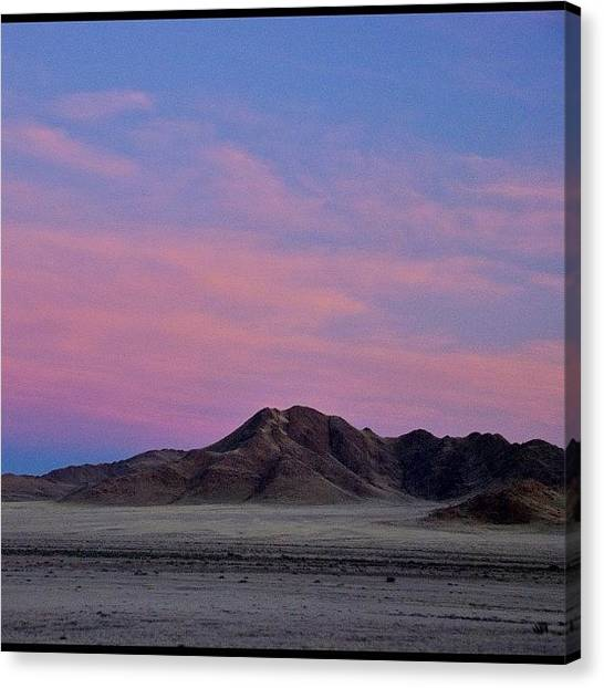 Irises Canvas Print - Sunrise, Somewhere In Kalahari Desert by Francesca Sara