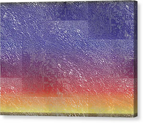 Sunset Horizon Canvas Print - Sunset 7 by Tim Allen