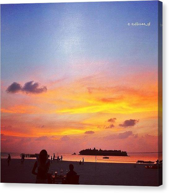 Heaven Canvas Print - Sunset Beach?!! I Miss Summer. The by Raffaele Salera