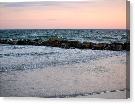 Sunset Colors The Atlantic Sky Canvas Print