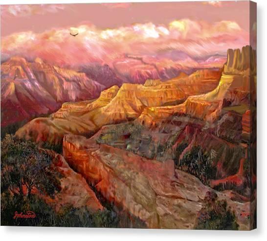 Sunset Grand Canyon Canvas Print