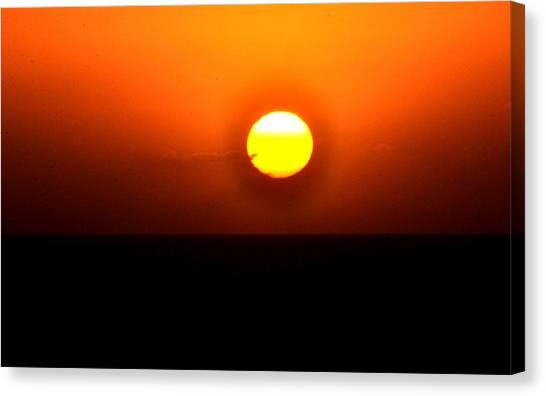 Sunset Iv Canvas Print by Danielle Del Prado