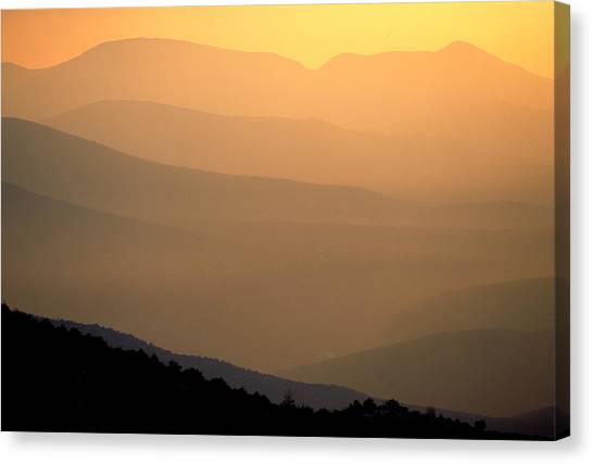 Sunset Layers Canvas Print