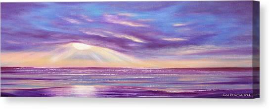 Sunset Spectacular - Panoramic Sunset Canvas Print