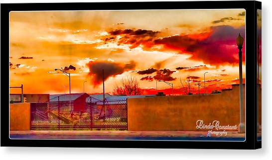 Sunset Station Canvas Print