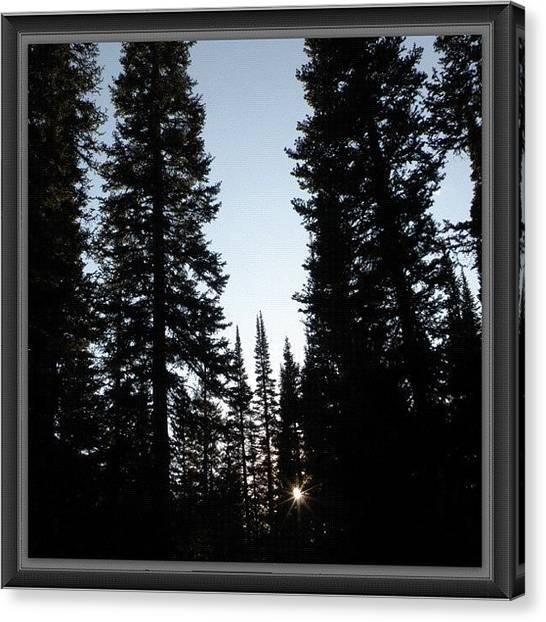 Rocky Mountains Canvas Print - #sunset #sunrise #colorado #rocky by James Sibert