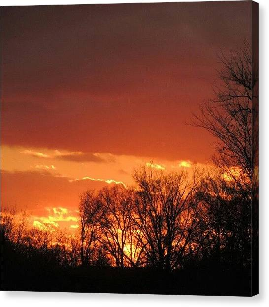 Arkansas Canvas Print - Sunsetter by Kelli Stowe