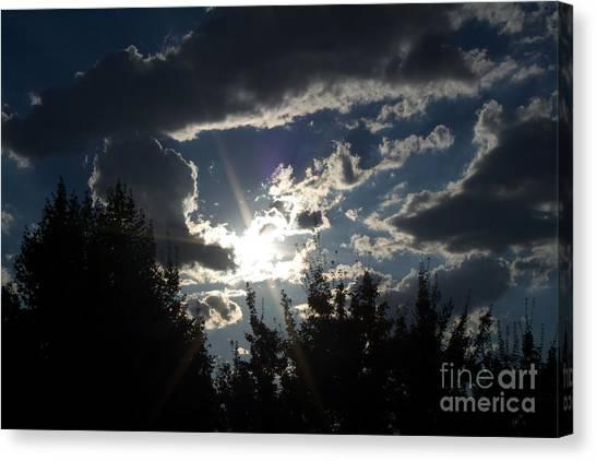 Sunshine Always Returns Canvas Print