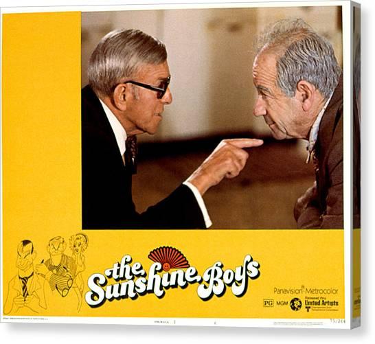 Cantankerous Canvas Print - Sunshine Boys, The, George Burns by Everett