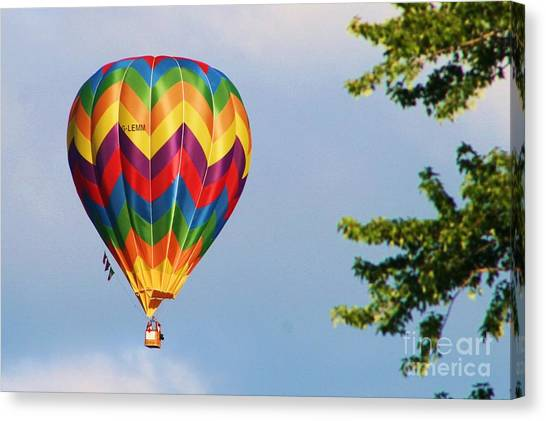 Sunshine On Balloon Canvas Print
