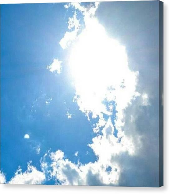 Utah Canvas Print - Sunshine On My Shoulders Makes Me by Becca Watters