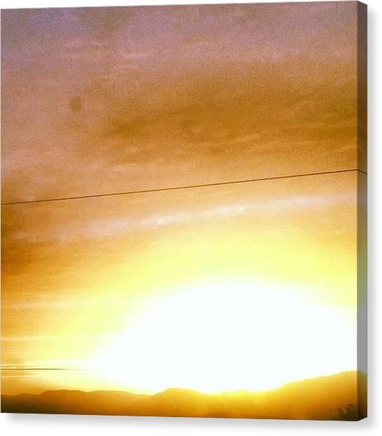 Solar Farms Canvas Print - Super Nova by Sam Harris