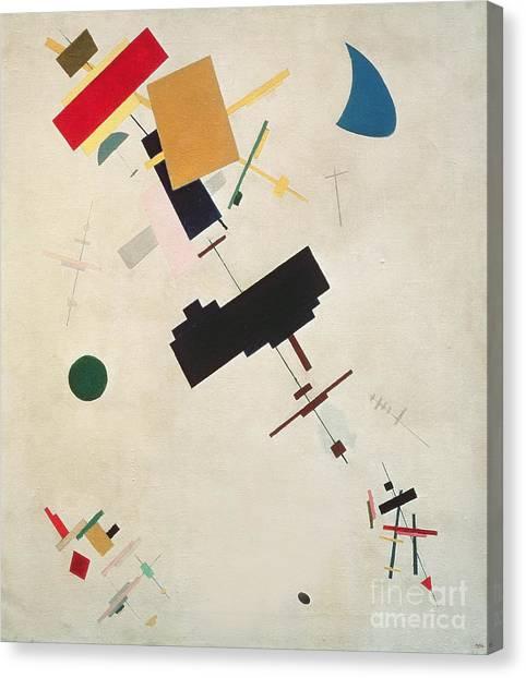 Suprematism Canvas Print - Suprematist Composition No 56 by Kazimir Severinovich Malevich