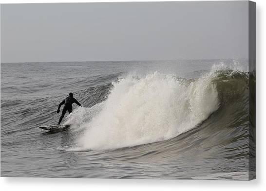 Surf 1 Canvas Print by Dan Madden
