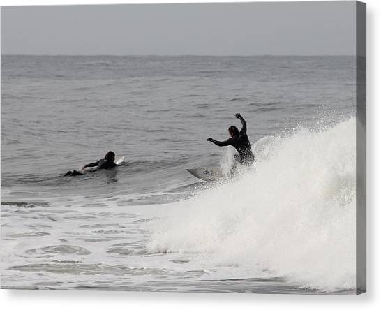 Surf 3 Canvas Print by Dan Madden
