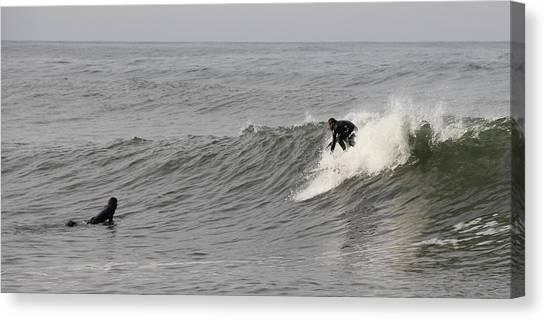 Surf 4 Canvas Print by Dan Madden