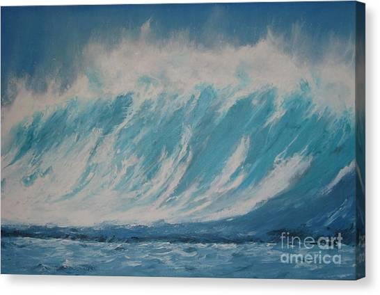 Surf Up Canvas Print