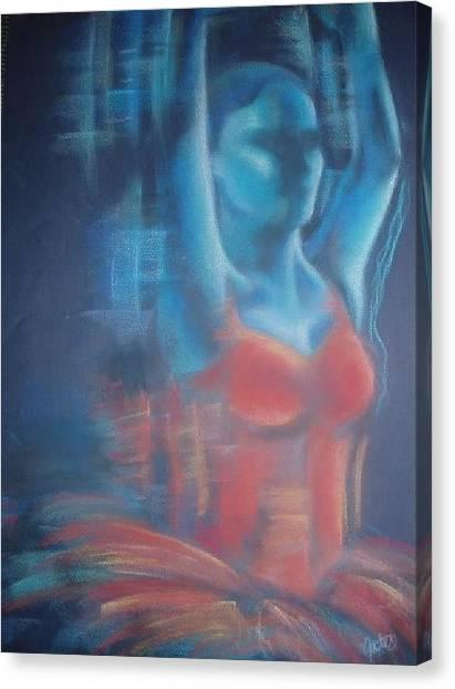 Surface Canvas Print by Joanna Gates