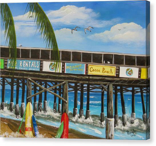 Surfs Up Canvas Print by Bruce Reigle