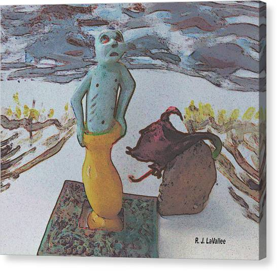 Surprising Powers 3 Canvas Print