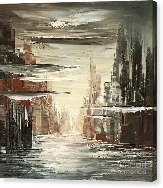 Surreal Sidelines Canvas Print