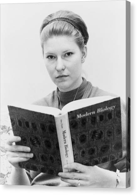 Fundamentalism Canvas Print - Susan Epperson, The Plaintiff by Everett