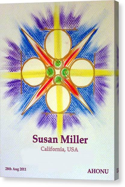 Susan Miller Canvas Print