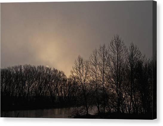 Susquehanna River Sunrise Canvas Print