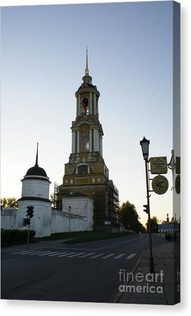 Suzdal 44 Canvas Print by Padamvir Singh