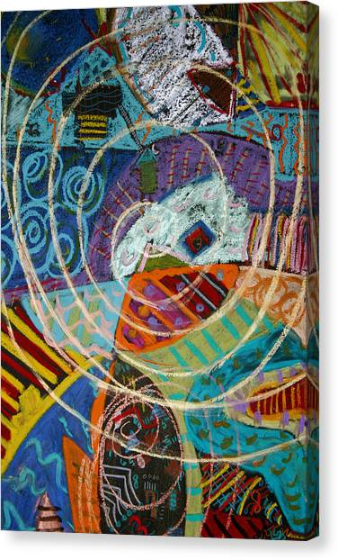 Swallowed Whole By Whale Canvas Print