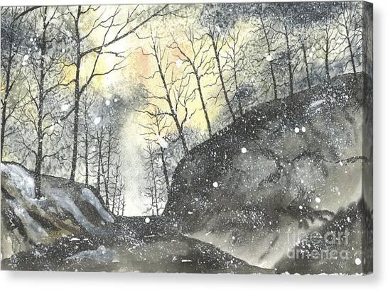 Swamp Rabbit Trail Three Canvas Print
