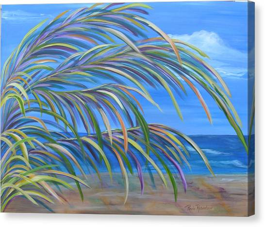 Swaying In The Breeze Canvas Print
