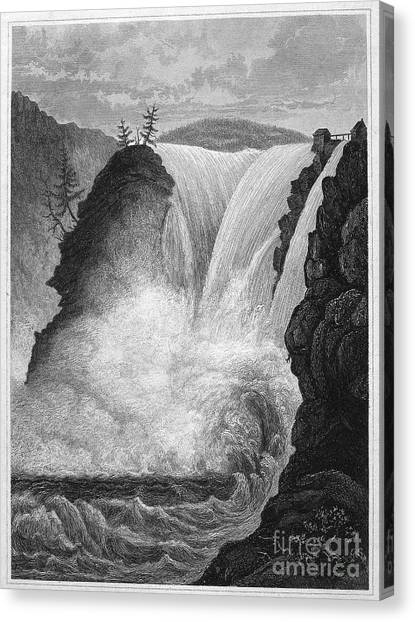 Gota Canvas Print - Sweden: Waterfall by Granger