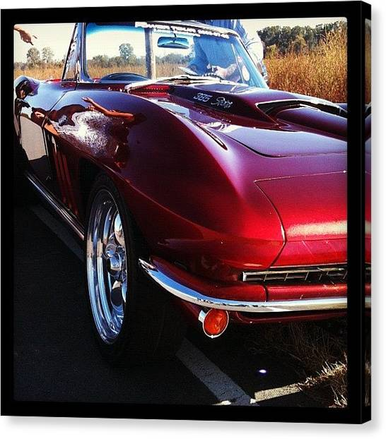 Grills Canvas Print - Sweet Ride by Brooke Good