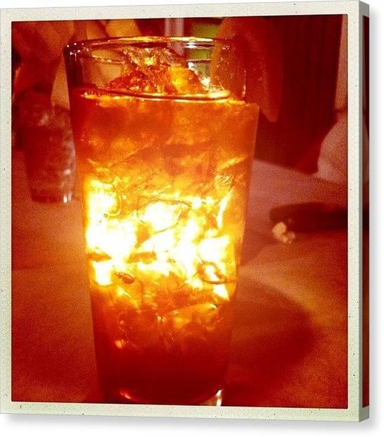 Lemons Canvas Print - #sweettea #icedtea #tealight #tea by James Roberts