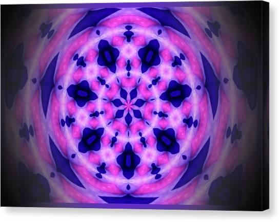 Swirl Of The Pinwheel Canvas Print by Myrna Migala