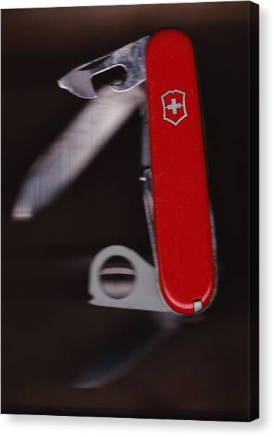 Swiss Army Knife Canvas Print
