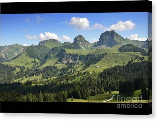 Swiss View 1 Canvas Print