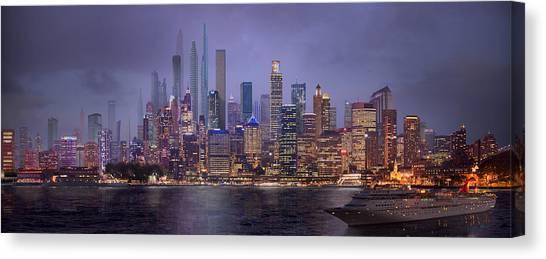 Sydney's Future Canvas Print