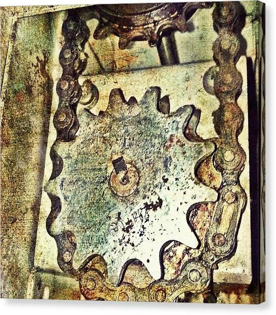 Machinery Canvas Print - Symbiosis by Abid Saeed