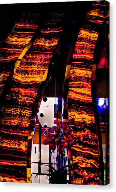 Steak Canvas Print - T-bones Steakhouse Las Vegas by David Patterson