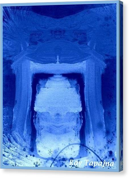 Tabernacle Of Hope Canvas Print by Ray Tapajna